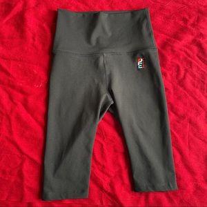 P.E Nation black bike shorts (XS)